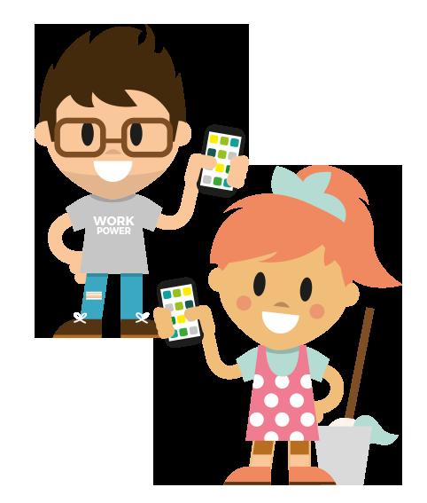LOLYO Mitarbeiter App für Reinigungsbetriebe & Personaldienstleister