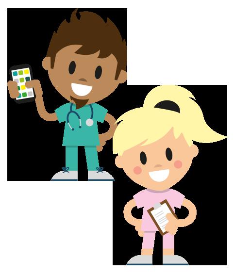 Mitarbeiter-App in der Gesundheits- & Pflegebranche