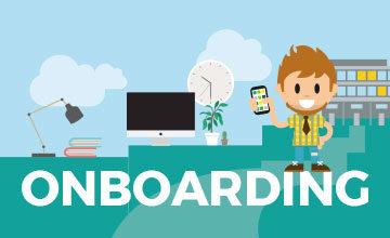 Onboarding mit der Mitarbeiter App von LOLYO