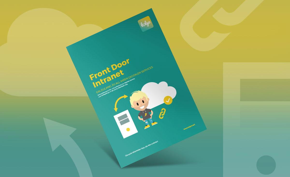 Front Door Intranet Infoblatt