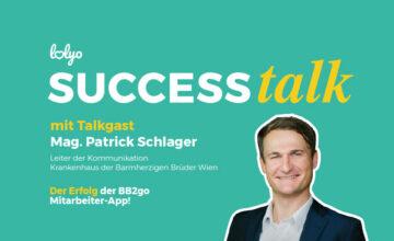 LOLYO SUCCESS talk Rueckblick BB2Go Mitarbeiter-App Patrick Schlager